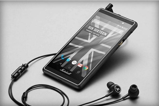 Marshall'dan müzik odaklı akıllı telefon!