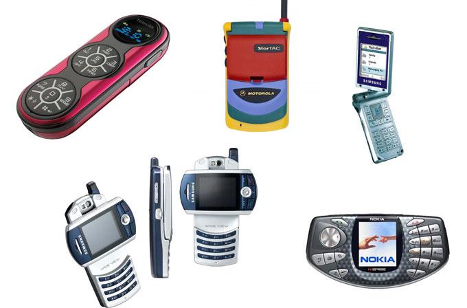 Tarihin en ilginç tasarımlı 10 telefonu
