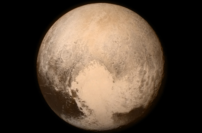 Pluto'nun ilk resmi NASA tarafından paylaşıldı