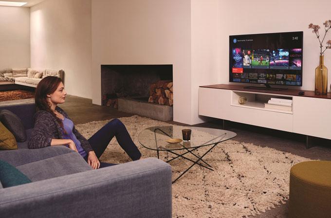 Philips'in yeni 4K Android TV'sini inceliyoruz (55PUK7100/12)