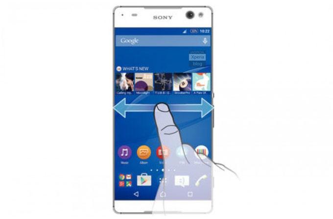 Sony Xperia C5 çerçevesiz tasarımla geliyor