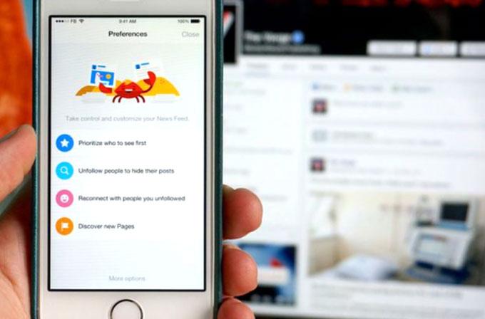 Facebook nihayet haber akışınızı kişiselleştirme imkânı tanıyor!