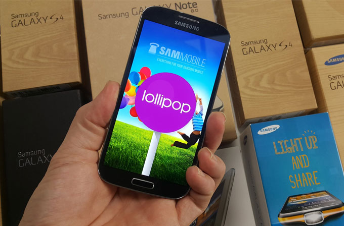 Galaxy S4 için Lollipop güncellemesi ülkemizde sunuluyor