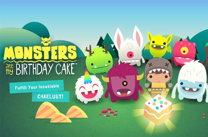 Google Play'de haftanın bedava uygulaması: Monsters Ate My Birthday Cake