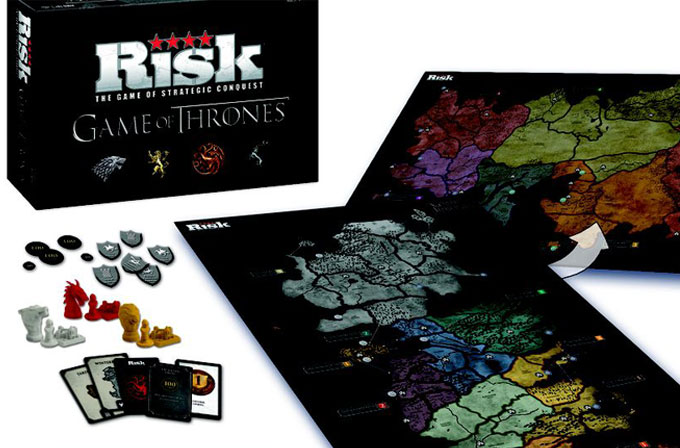 Risk oyununun Game of Thrones versiyonu geliyor