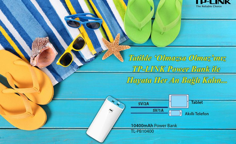 TP-LINK ile tatil keyfi yarım kalmasın