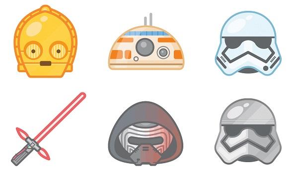 Star Wars Emoji'leri resmi uygulamaya eklendi