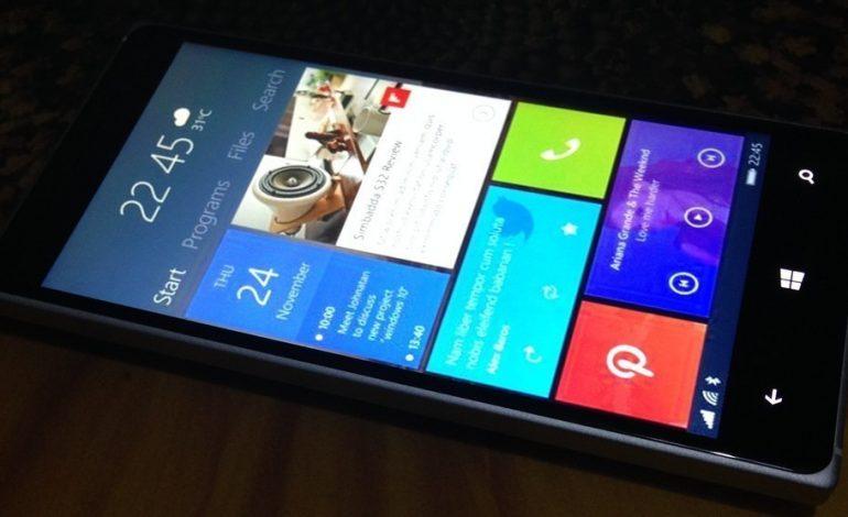 Windows 10 mobil 5 GB'lık depolama alanı istiyor