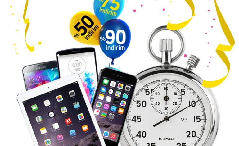 Turkcell'den telefon, tablet ve aksesuarlarda %90'a varan indirim