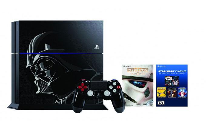Darth Vader temalı PS4 geliyor