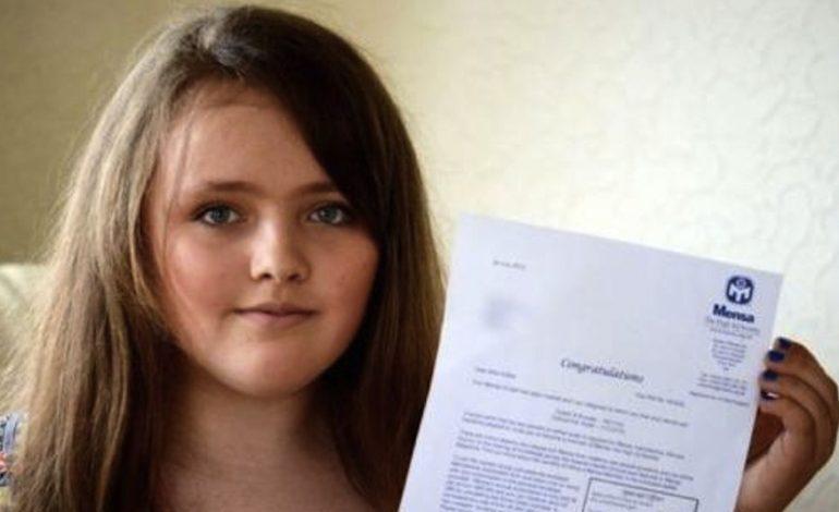 12 yaşındaki kız Stephen Hawking ve Albert Einstein'dan daha yüksek IQ'ya sahip