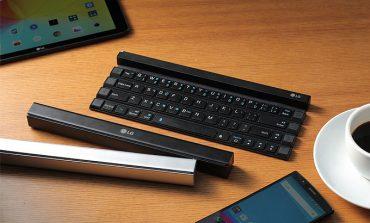 LG'den mobil cihazlar için katlanabilir klavye: LG Rolly