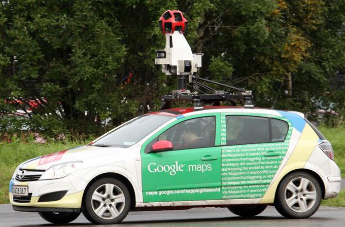 Google Steet View araçları hava kirliliğini de ölçüyor