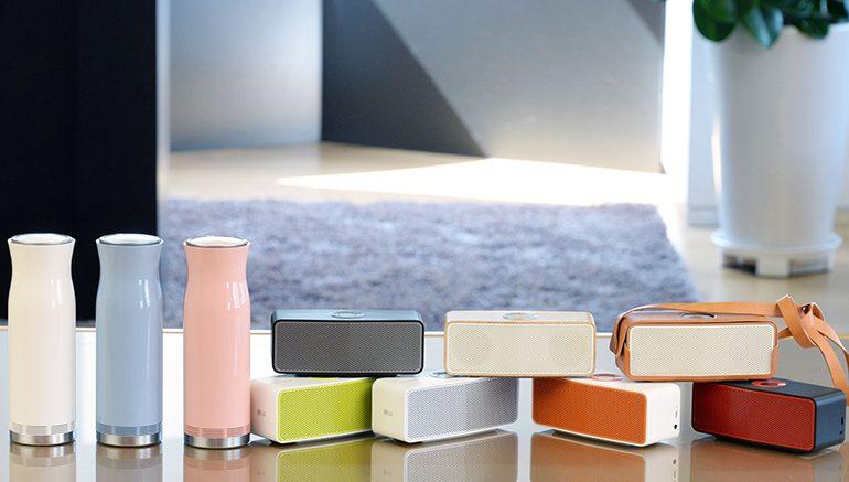 LG'den, IFA 2015'te yeni kablosuz ses çözümleri