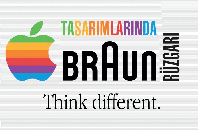 Apple tasarımlarında Braun rüzgarları