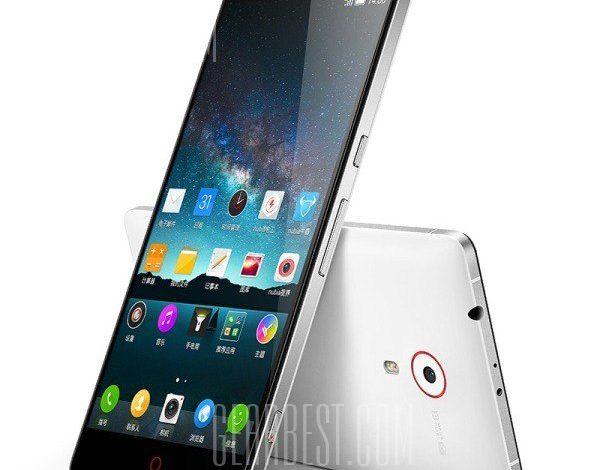 ZTE Nubia Z7 phablet 300 dolarlık fiyatı ile Gearbest.com'da