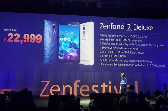 ASUS'tan iki yeni Zenfone 2 modeli: Deluxe ve Laser