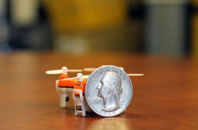 Dünyanın en küçük drone'u Aerius satışta