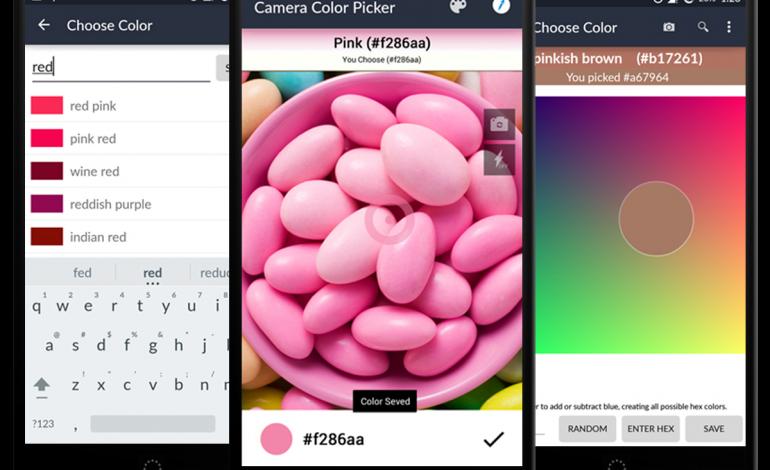 Akıllı telefonunuzla renkleri tanımlayın: Camera Color Picker