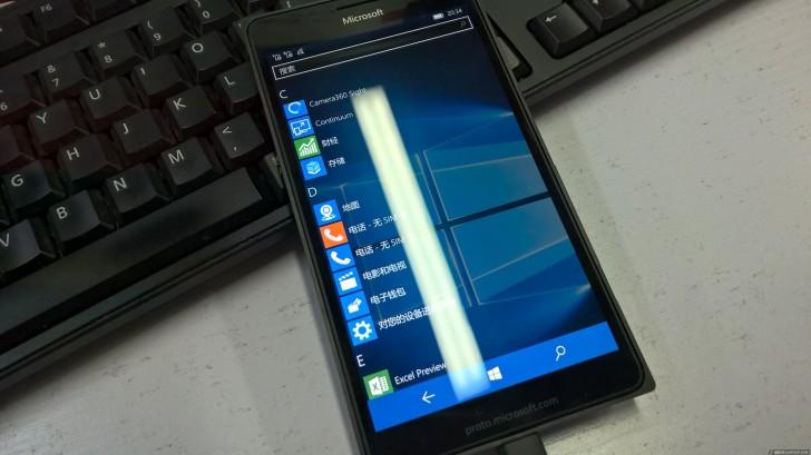 Lumia 950 XL'in prototipi gözüktü