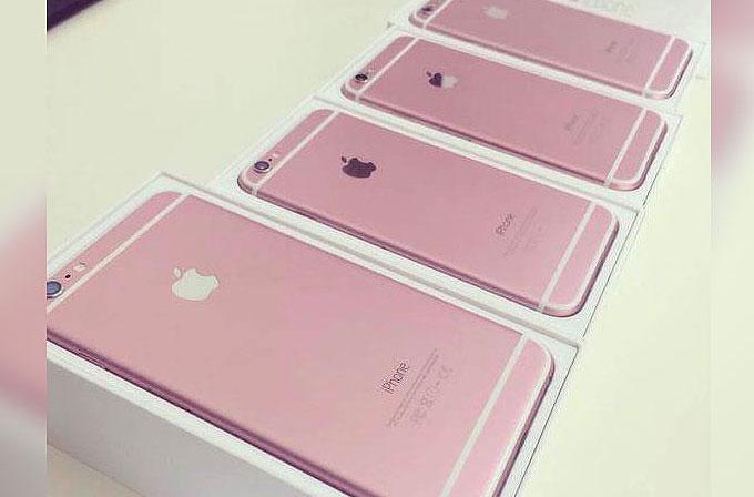 Yeni iPhone'da pembe renk seçeneği olabilir