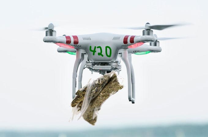 Drone ile marijuana servisi için yeni girişim