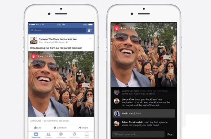 """Facebook'ta canlı yayın özelliği """"onaylanmış"""" hesaplara da geliyor"""