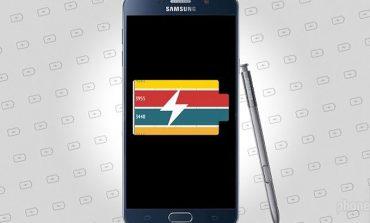 Galaxy Note 5'in pil ömrü performansı