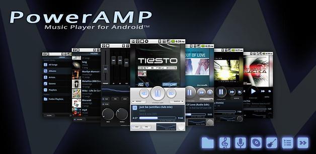 Ekolayzır özellikleri başarılı bir müzik çalar: Poweramp