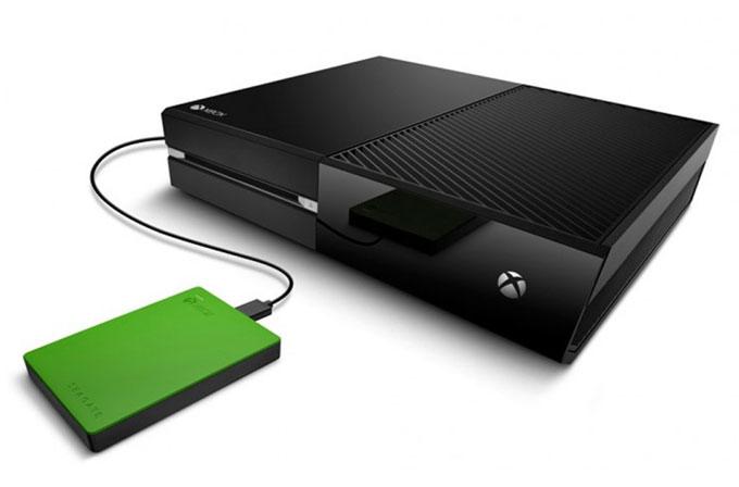Seagate'den Xbox için 2TB'lık taşınabilir HDD