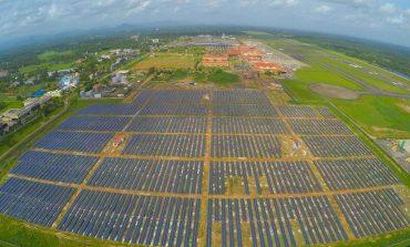 Dünyanın tamamen güneş enerjisiyle çalışan ilk havalimanı