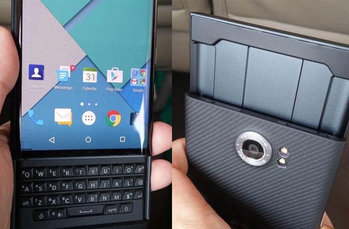 Android'li BlackBerry Venice'ten yeni fotoğraflar