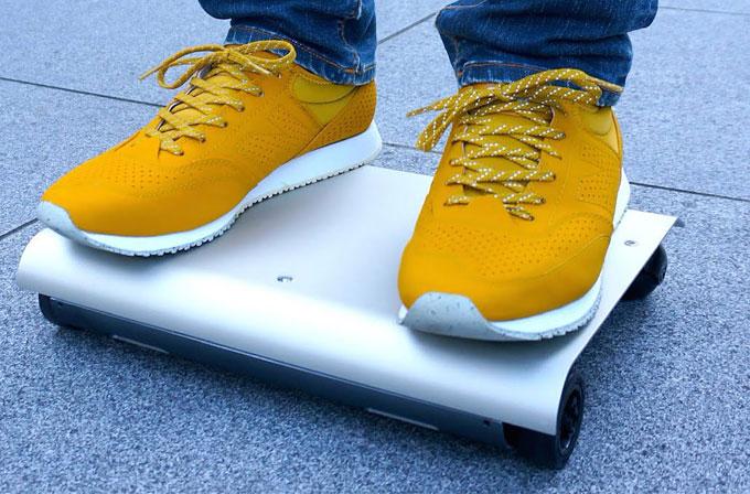 Çantanıza sığabilecek kadar küçük bir araç: Walkcar