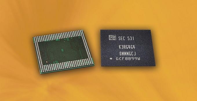 Samsung 12Gb LPDDR4 yongaların seri üretimine başladı