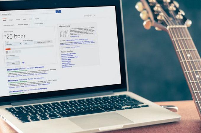 Artık Bing yardımıyla gitarınızı akort edebilirsiniz