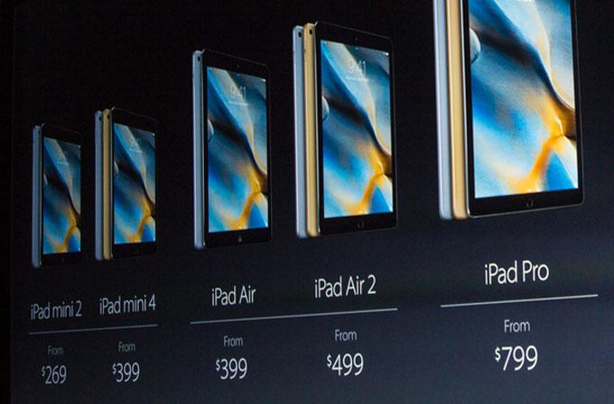 Stylus kalemli 12.9 inç iPad Pro duyuruldu!