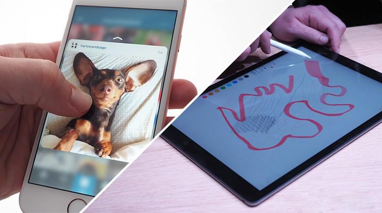 iPhone 6S ve iPad Pro'nun bellekleri kesinleşti
