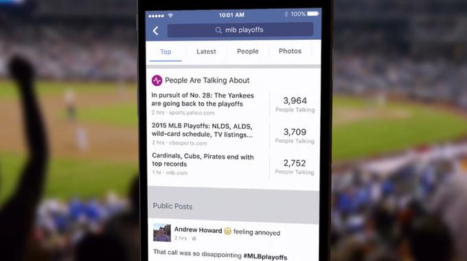 Facebook aramaları artık 2 trilyon paylaşımdan yapılacak
