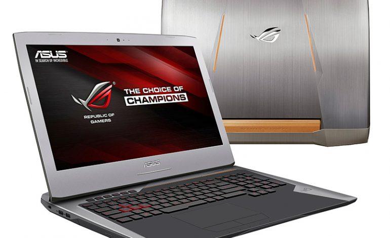 ASUS, yeni oyun canavarı G752 dizüstü bilgisayarını tanıttı