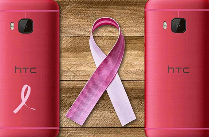 HTC'den Meme Kanseri'ne karşı pembe One M9