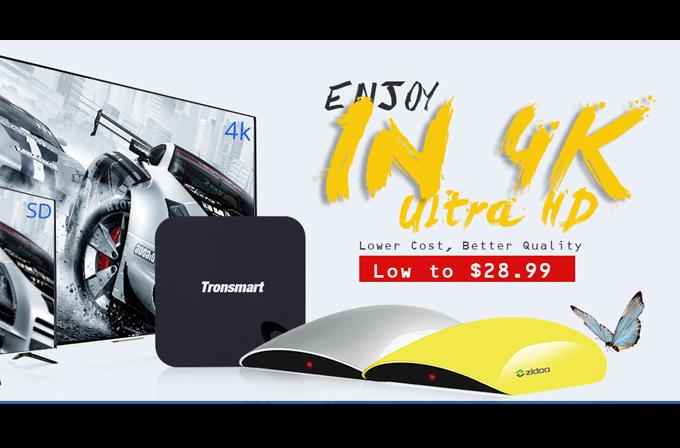 Uygun fiyata 4K TV izleme keyfi Geekbuying.com'da