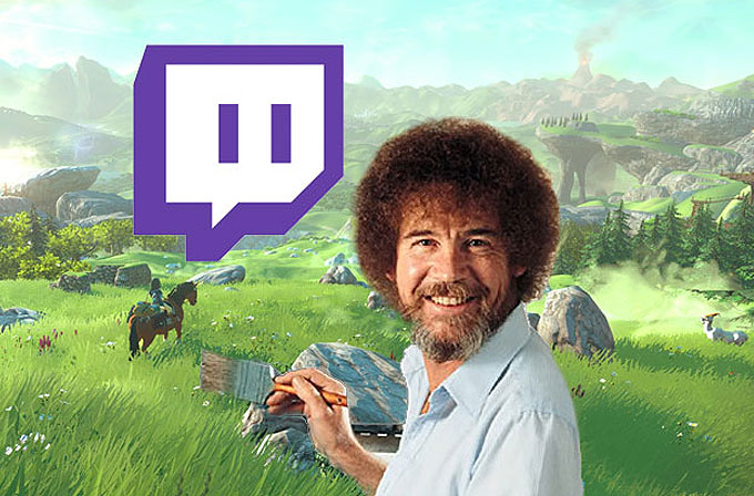 Twitch'in yeni gözdesi Bob Ross