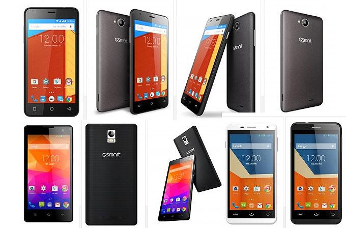 Gigabyte'tan 4 yeni akıllı telefon