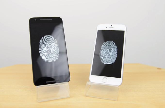iPhone 6s, Nexus 5x arasındaki Touch ID hız testi