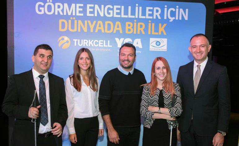 Turkcell ve YGA'nın geliştirdiği uygulama ile görme engelliler vizyon filmlerini artık sinemada izleyebilecek
