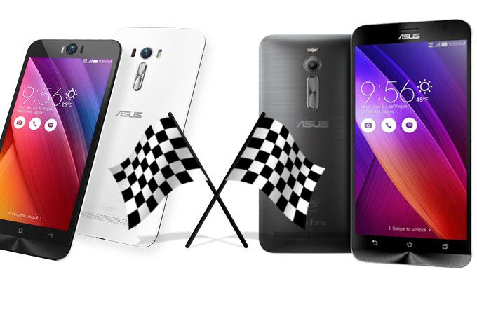 Hız Testi: ASUS ZenFone 2 vs ASUS ZenFone Selfie