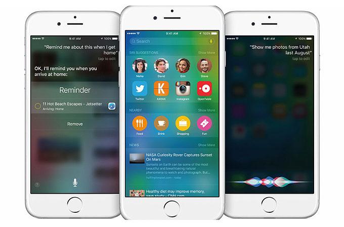 Apple'ın üç mobil cihazından ikisi iOS 9 kullanıyor