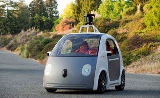 google sürücüsüz araba