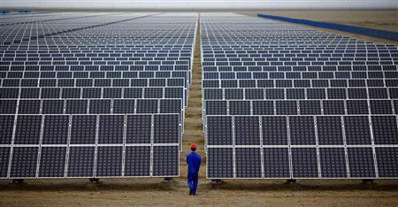 Enerji üretiminde yeni jenerasyon gökyüzü güneş çiftlikleri