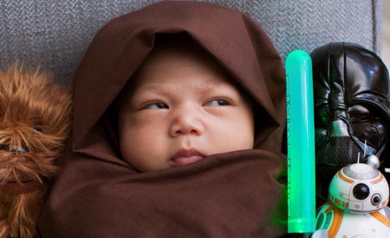 Yeni minik Jedi…